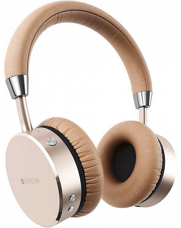 Наушники Satechi Bluetooth Aluminum Wireless Headphones (золотой)