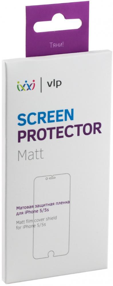 Защитная пленка VLP для Apple iPhone 5/5S (матовая), серый  - купить со скидкой
