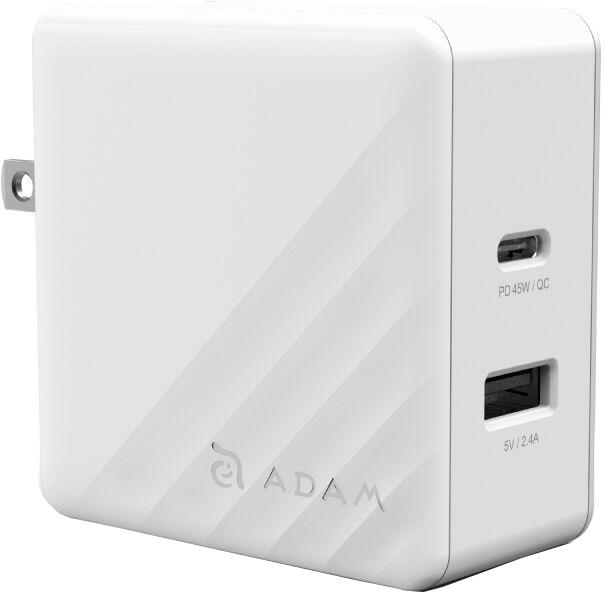 Сетевое зарядное устройство ADAM Elements OMNIA P5 USB-C PD / QC3.0 57W (белый) фото