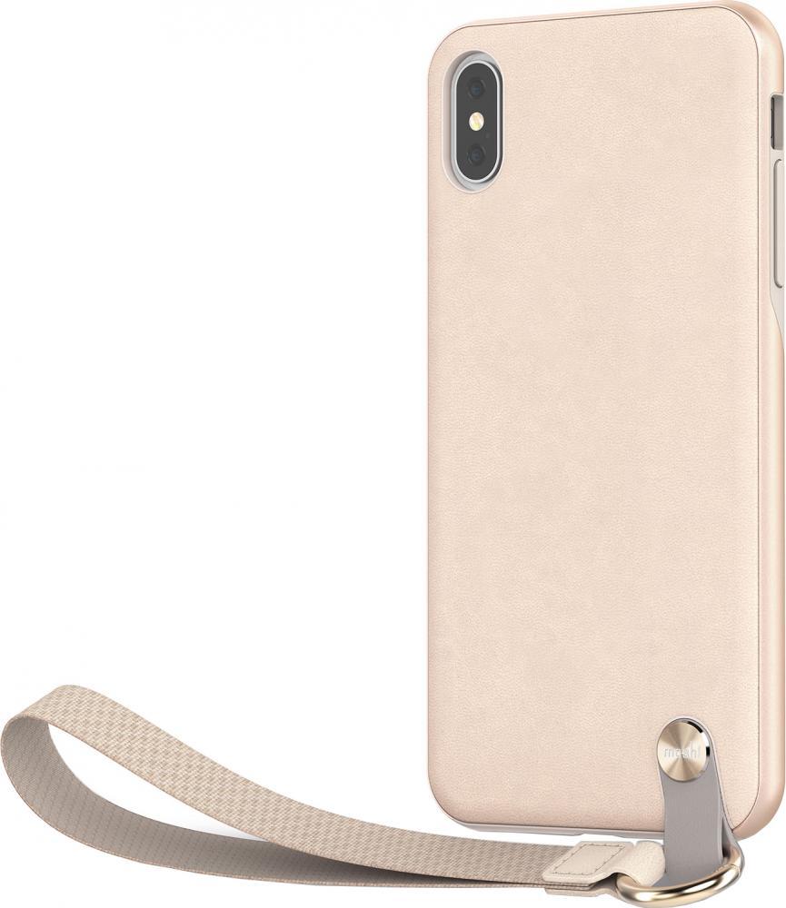 Чехол-книжка Moshi Altra для Apple iPhone XS Max (бежевый) чехол moshi для apple iphone 11 pro max altra beige 99mo117305