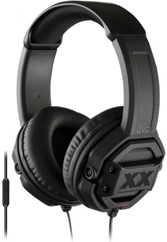 Наушники JVC HA-MR60X-E (черный) наушники jvc ha fx7 black
