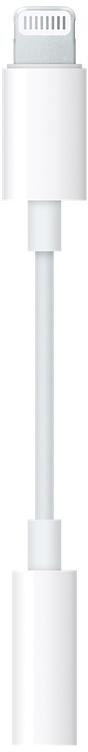 Адаптер Apple Aux to Lightning (белый)