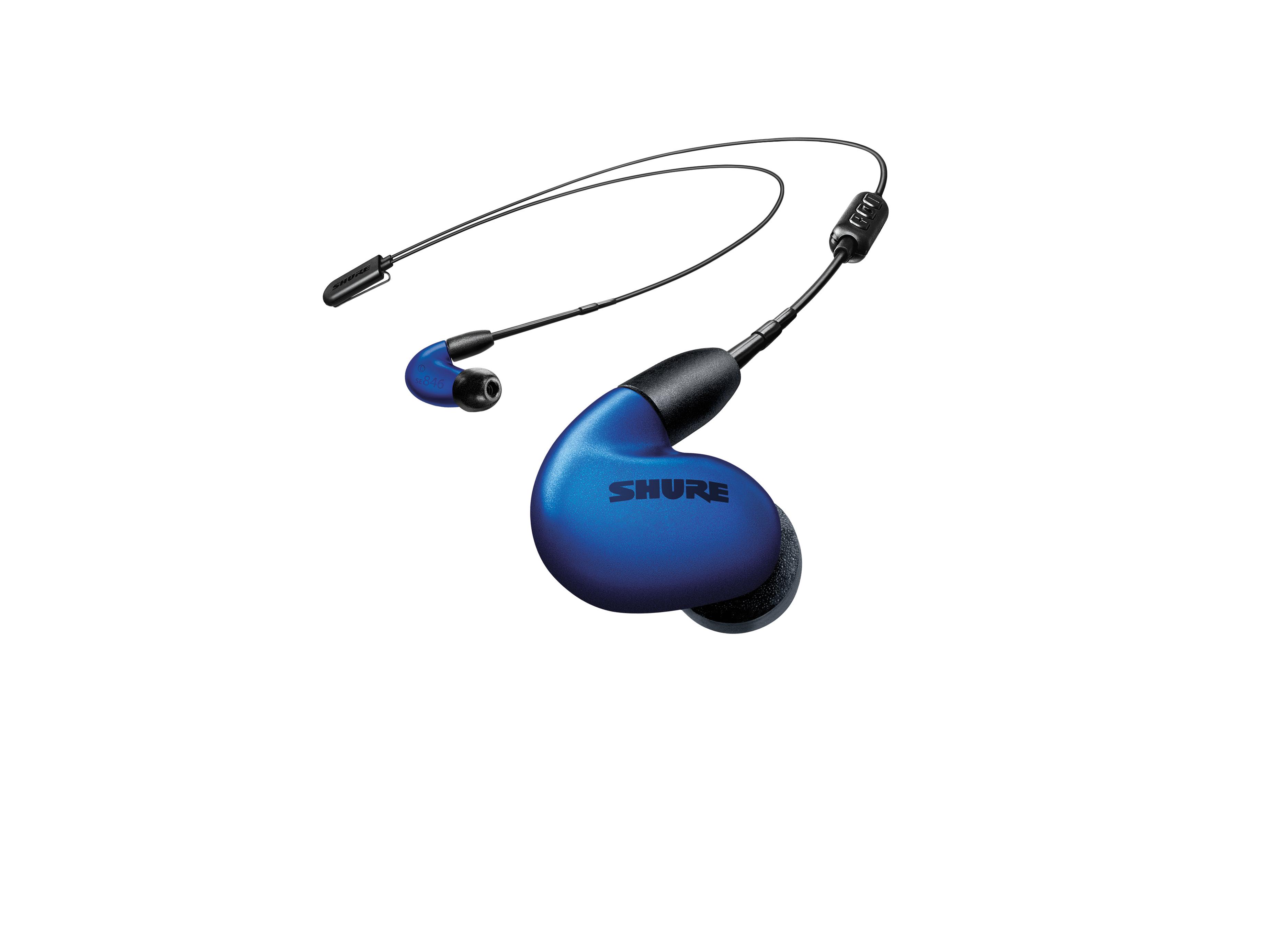 Наушники Shure Беспроводные внутриканальные (синий)