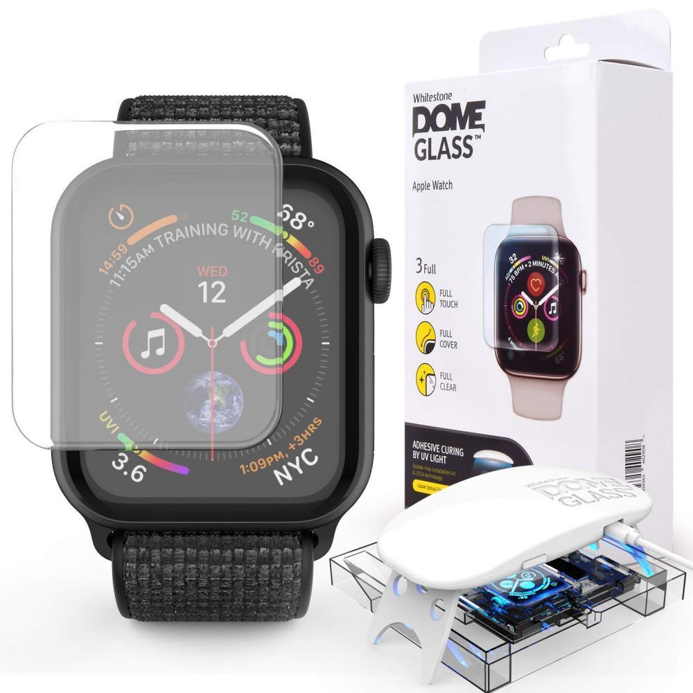 Защитное стекло Whitestone DOME для Apple Watch 42 мм стекло защитное whitestone dome для apple watch series 4 5 44