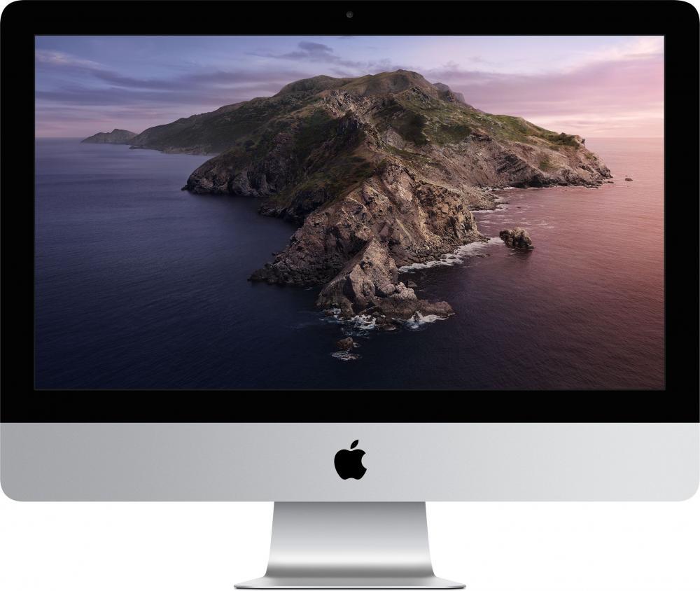 """Моноблок Apple iMac 21.5"""" с дисплеем Retina 4K, Core i3 3,6 ГГц, 8 ГБ, 1 ТБ, Radeon Pro 555X (серебристый)"""