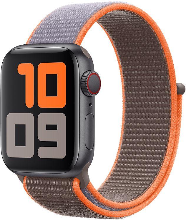Ремешок Apple Sport Nylon Band для Watch 44 мм (оранжевый витамин) фото