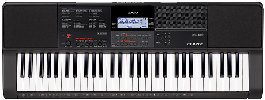 Синтезатор Casio CT-X700 (черный)