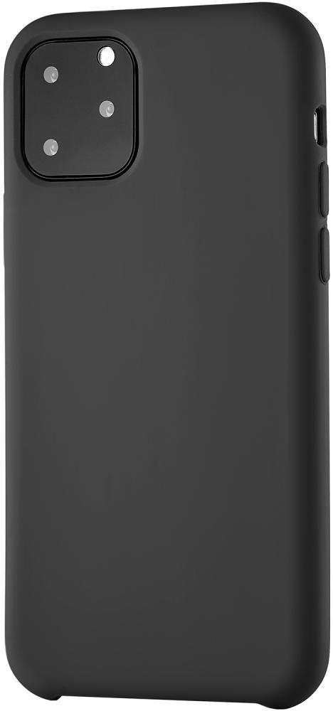 Клип-кейс uBear Siliconesoft touch дляApple iPhone 11 Pro (черный) фото