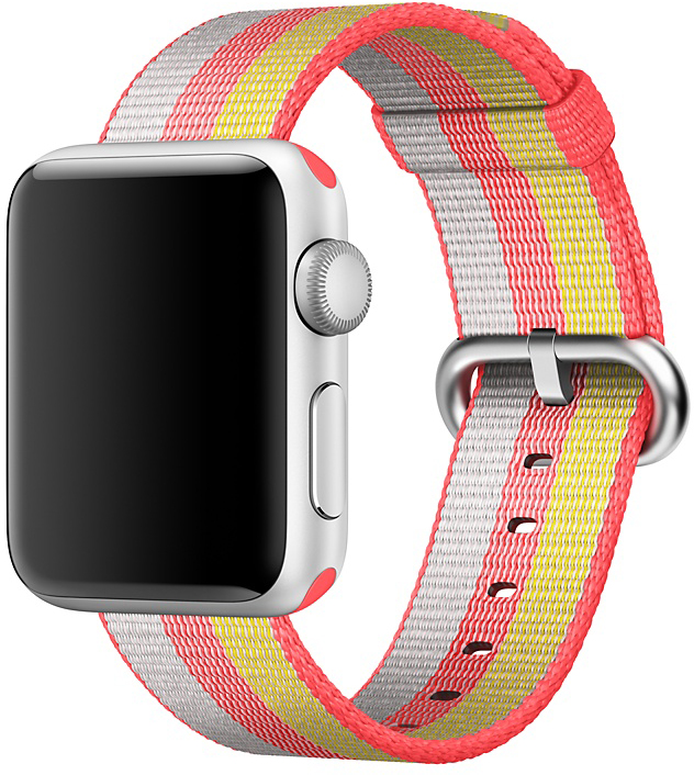 Ремешок Apple Nylon Band для Watch 38 мм (красный)