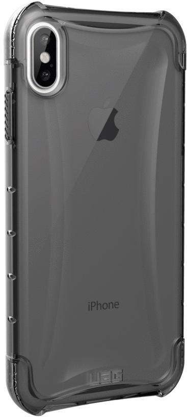 Клип-кейс UAG Plyo для Apple iPhone XS Max (пепельный)