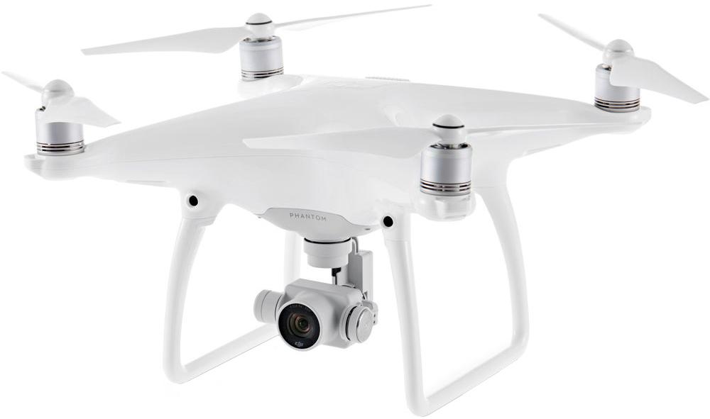 Квадрокоптер, DJI Phantom 4 Pro (белый)  - купить со скидкой