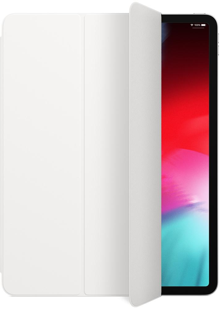 Обложка Apple Smart Folio для iPad Pro 12.9 (3-го поколения) (белый) стилус apple pencil 2 го поколения