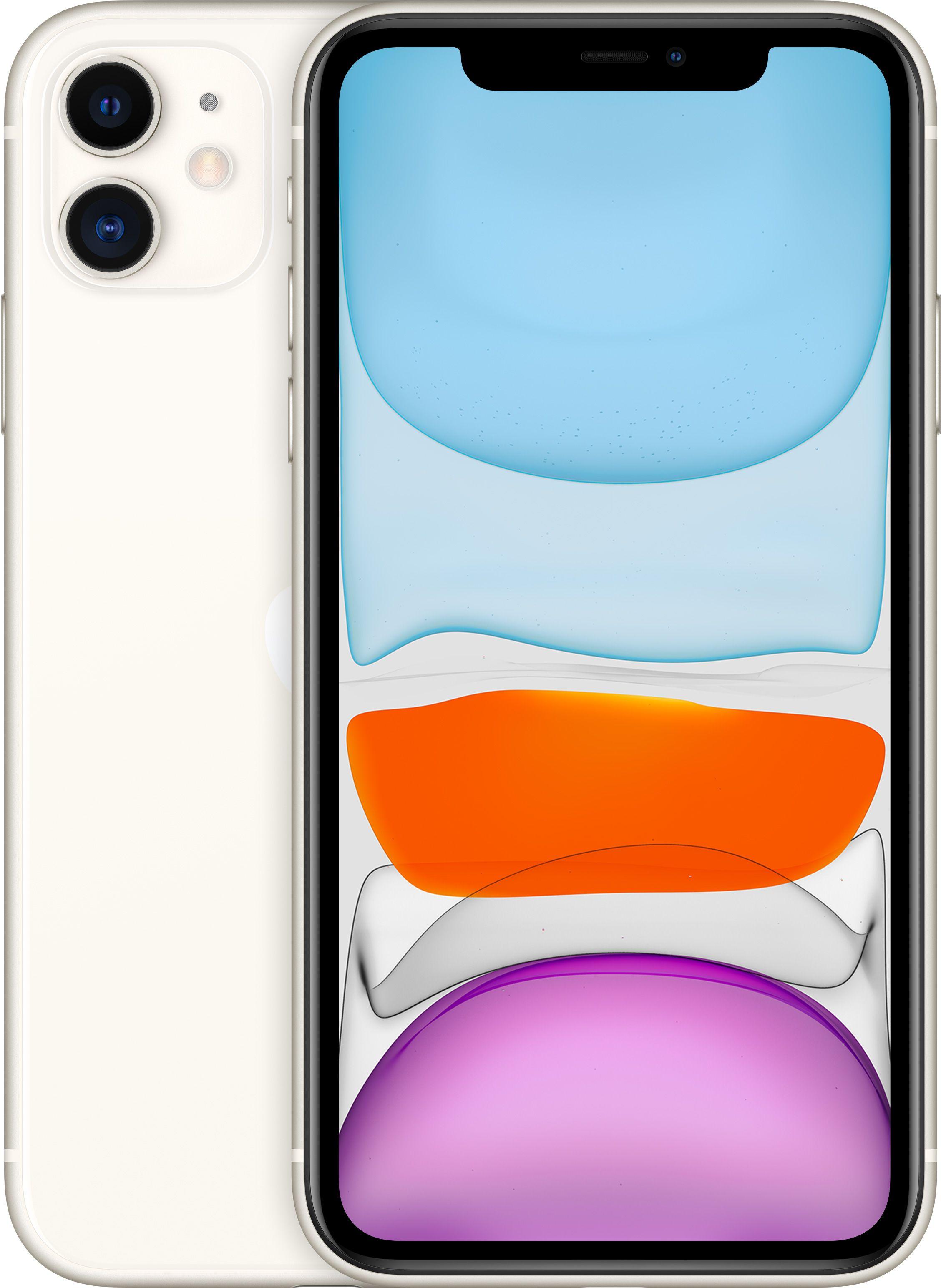 Мобильный телефон Apple iPhone 11 128GB (белый) фото