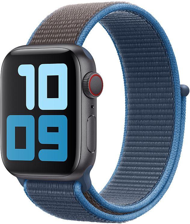 Ремешок Apple Sport Nylon Band для Watch 44 мм (синяя волна)