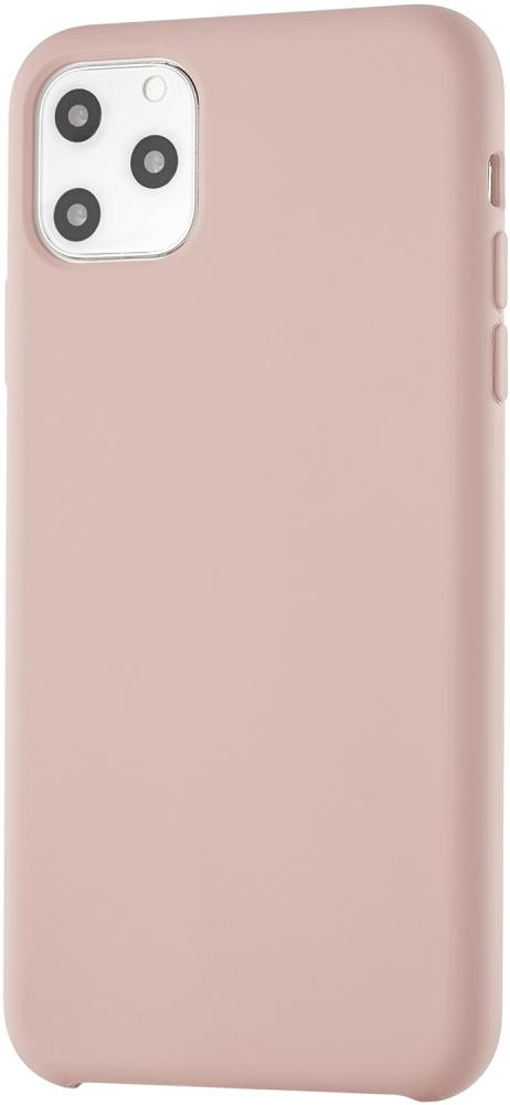 Клип-кейс uBear Silicone soft touch для Apple iPhone 11 Pro Max (розовый)