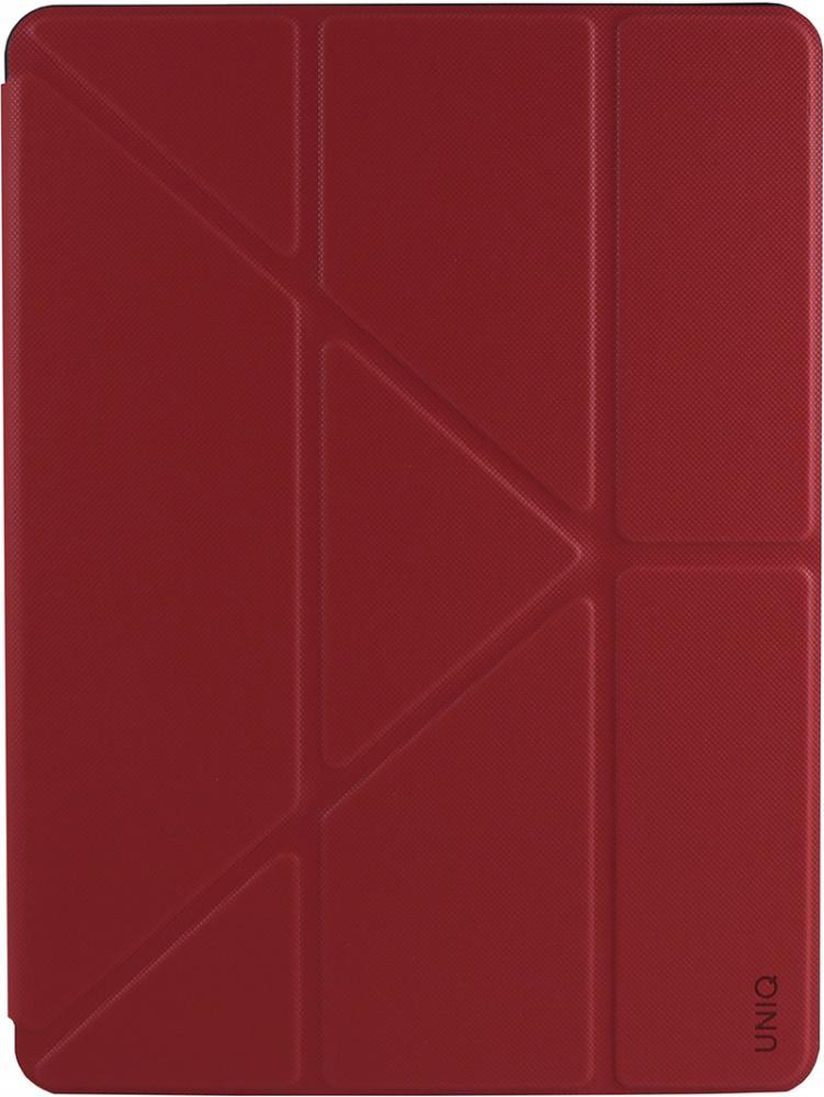 Чехол-книжка Uniq Transforma Rigor для Apple iPad 10.2 (красный) фото