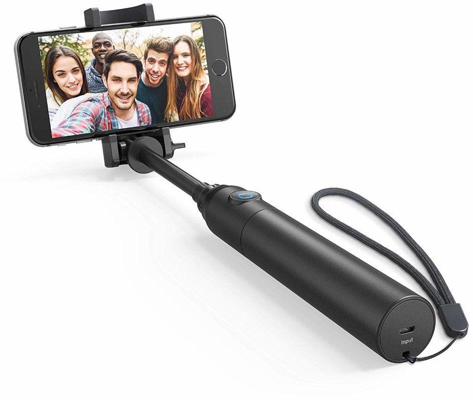 Селфи-палка Anker Bluetooth Selfie Stick A7161011 (черный) фото