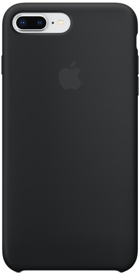 Клип-кейс Apple Silicone Case для iPhone 8 Plus/7 Plus (черный) фото
