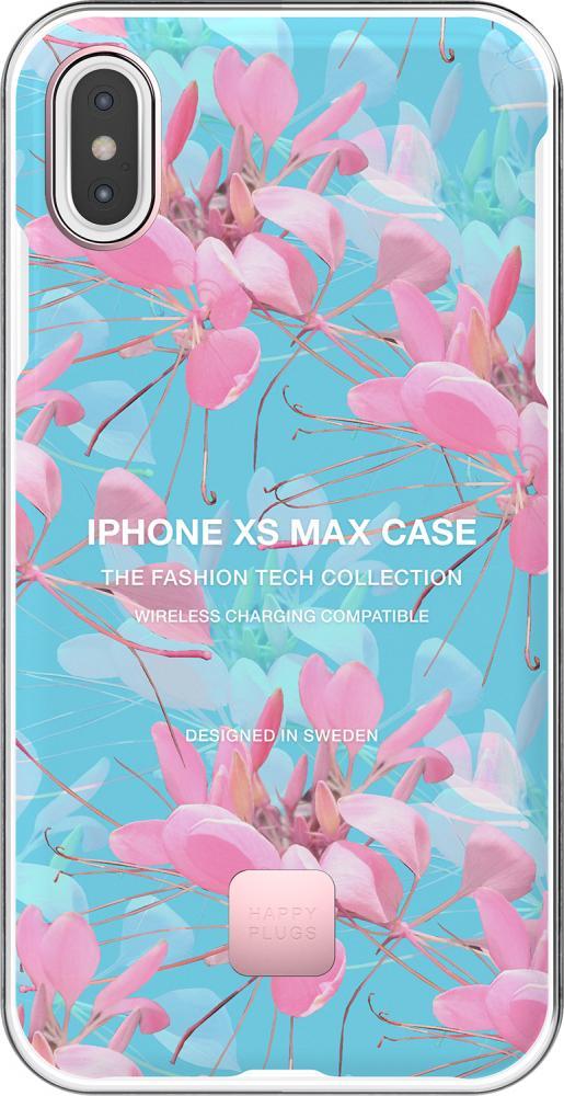 Фото - Клип-кейс Happy Plugs для Apple iPhone XS Max Botanica Exotica (с рисунком) клип кейс happy plugs для apple iphone xs black marble черный мрамор