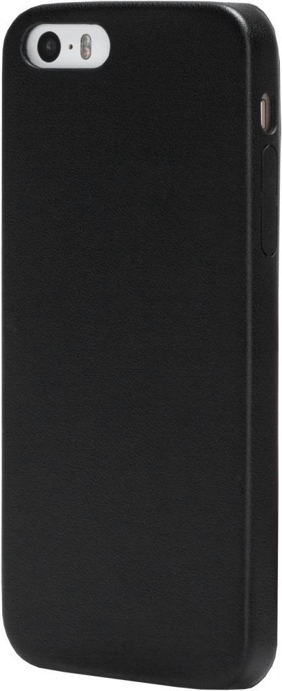 Клип-кейс uBear для Apple iPhone SE/5/5S (черный)