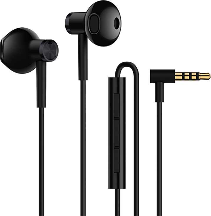 Наушники Xiaomi Mi Dual Driver Earphones (черный)