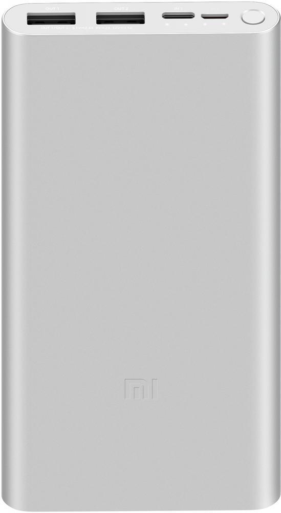 Внешний аккумулятор Xiaomi Mi 18W FC Power Bank 3 10000 мАч (серебристый)