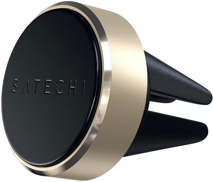 Автомобильный держатель Satechi Aluminum Vent Magnet Mount (золотой)