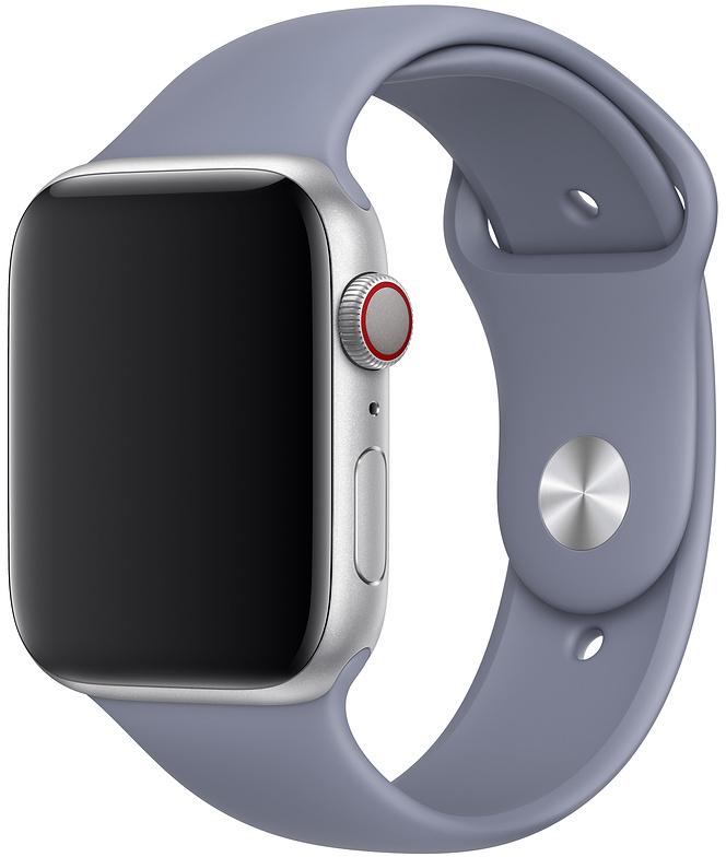 Ремешок Apple Sport Band для Watch 44 мм размеры S/M и M/L (темная лаванда) фото