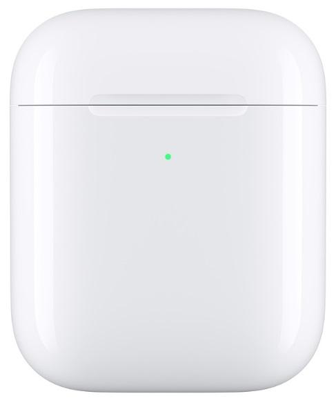Футляр с возможностью беспроводной зарядки Apple Wireless Charging Case for AirPods (белый)
