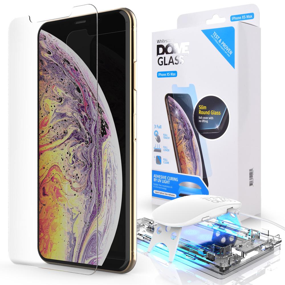 Защитное стекло Whitestone DOME для Apple iPhone XS Max фото